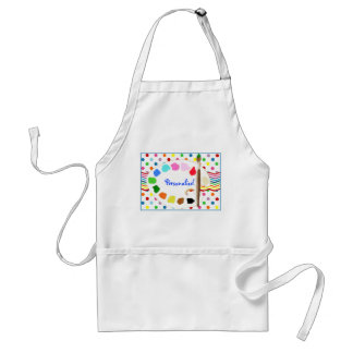 Paint/Art Party Personalized Apron