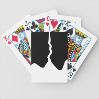 paint bicycle playing cards
