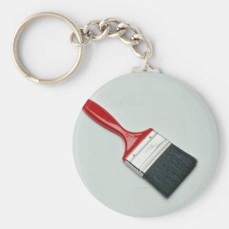Paint brush keychain