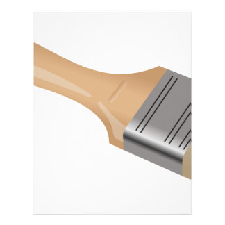 Paint Brush Letterhead