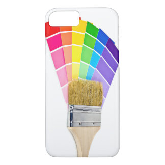 paint brush on paint colors iPhone 8/7 case