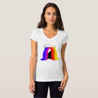 Paint Bucket Spilling Vibrant Colours Cool Fun T-Shirt