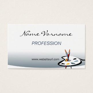 paint business card