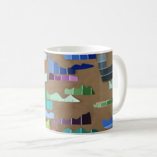 Paint Chip Waves Mug