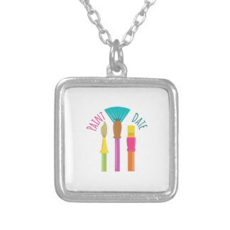Paint Date Personalized Necklace