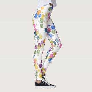Paint Dots Leggings