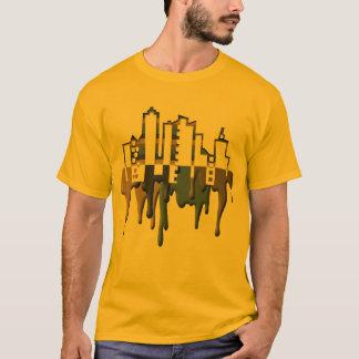 paint drip SKYLINE T-Shirt