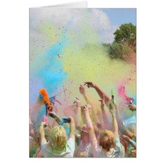 Paint Festival Card