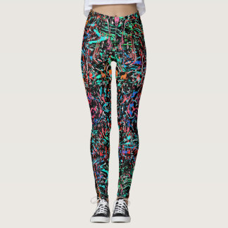 PAINT FESTIVAL LEGGINGS