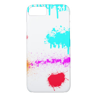 Paint Fight RBOP Abstract Art iPhone 7 Case