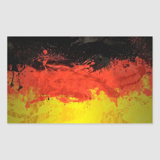 Paint Germany Flag Sticker
