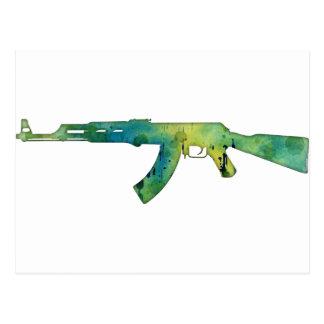 Paint Gun Postcard