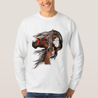 Paint Horse and Feathers Trans T-Shirt