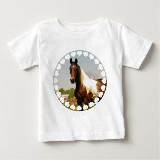 Paint Horse Baby T-Shirt