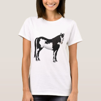 Paint Horse black knows T-Shirt