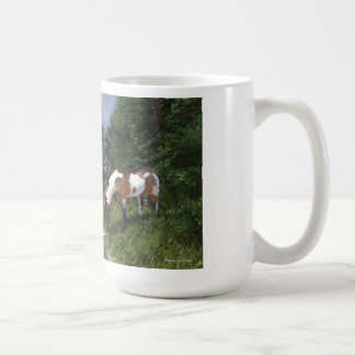 Paint Horse by Forest Stream Mug