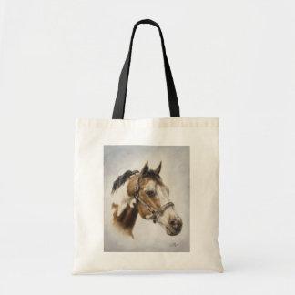 Paint Horse Canvas Tote Bag