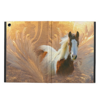 Paint Horse Gold iPad Air Cover Case