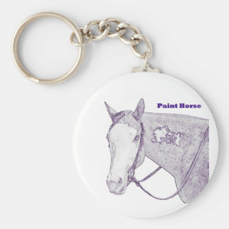 Paint Horse Key chain