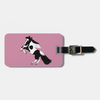 Paint Horse Luggage Tag