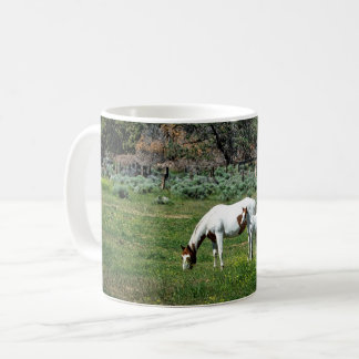Paint Horse Mare and Foal Coffee Mug