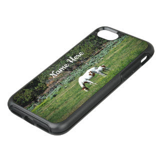 Paint Horse Mare and Foal Personalized OtterBox Symmetry iPhone 8/7 Case