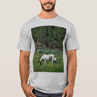 Paint Horse Mare and Foal T-Shirt