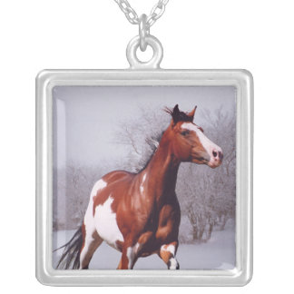 Paint Horse Snow, Necklace