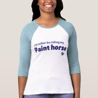 Paint horse t shirt