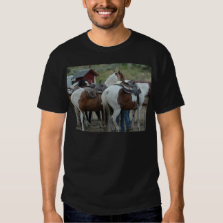 Paint Horse Tail T-shirts