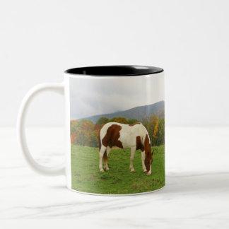 Paint Horse Two-Tone Coffee Mug