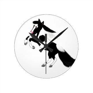 Paint Horse Wallclock