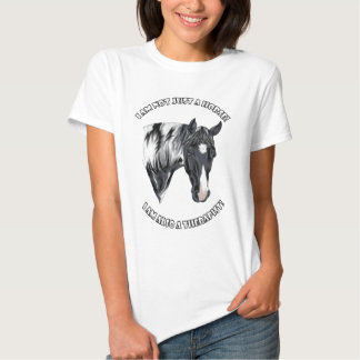 Paint Horse With Words Tshirts