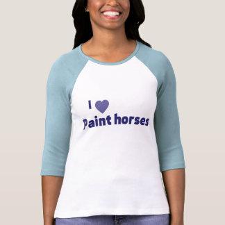Paint horses t-shirts
