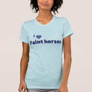 Paint horses tshirt
