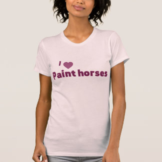 Paint horses shirts