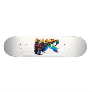 Paint_It_Yourself Custom Skate Board