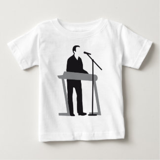 paint key board more player baby T-Shirt