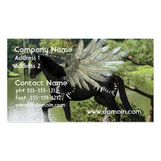 Paint Pegasus Business Card Template