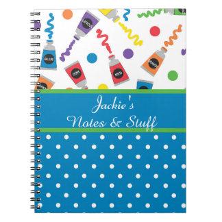Paint Polka Dots Notebook