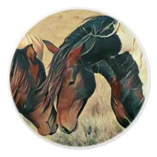 Paint Ponies Ceramic Knob
