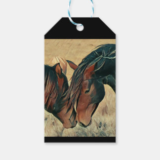 Paint Ponies Gift Tags