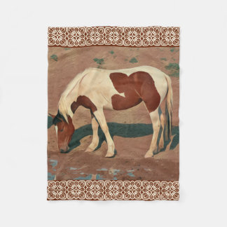 Paint Pony Fleece Blanket