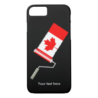 Paint Roller Canada iPhone 7 Case