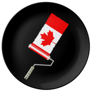 Paint Roller Canada Plate