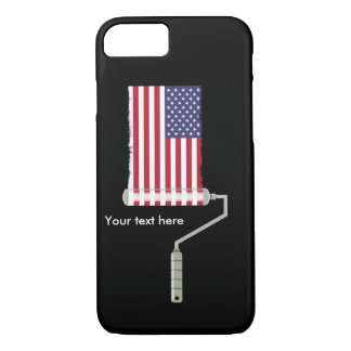 PAINT ROLLER USA with shadow all shops side iPhone 7 Case