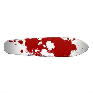 Paint Skull Custom Skate Board