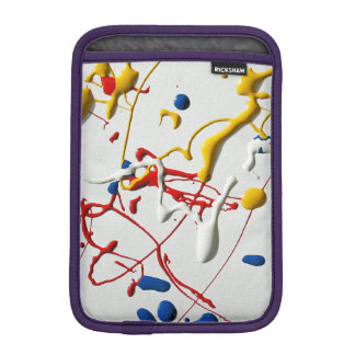 Paint Spatter iPad Mini Sleeve