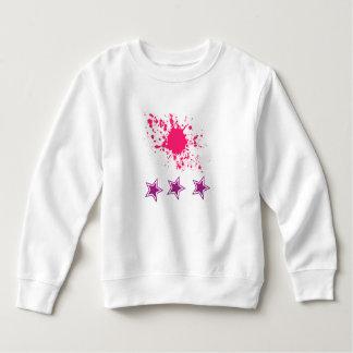 Paint splash and Stars Baby Sweatshirt
