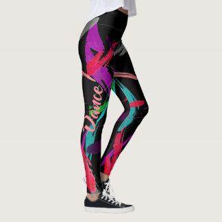 Paint Splash Artsy Dance Leggings